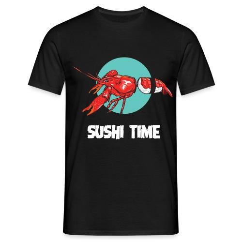 SUSHI TIME-gambero-b - Maglietta da uomo