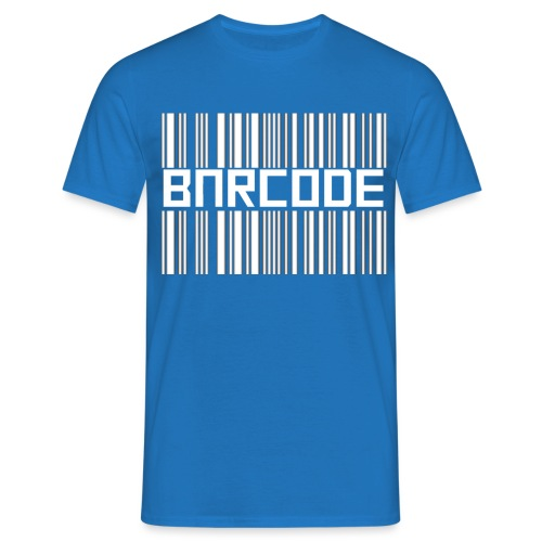 BARCODE BLACK - Men's T-Shirt