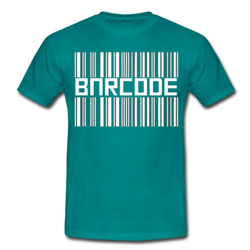 BARCODE BLACK - Men's T-Shirt