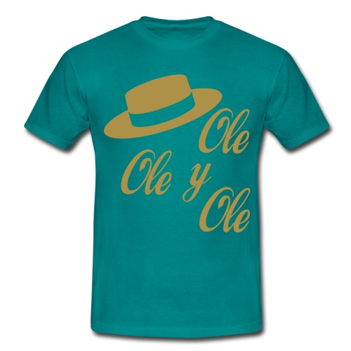 Ole,Ole y Ole (Hombre) - Camiseta hombre