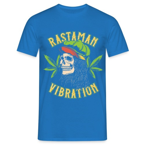Rastaman - Cannabis - Männer T-Shirt