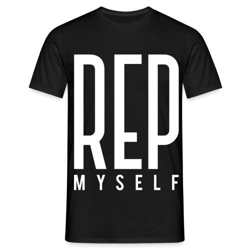 Represent Myself - Mannen T-shirt