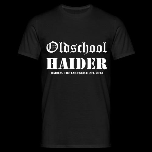 Oldschool Haider - Männer T-Shirt
