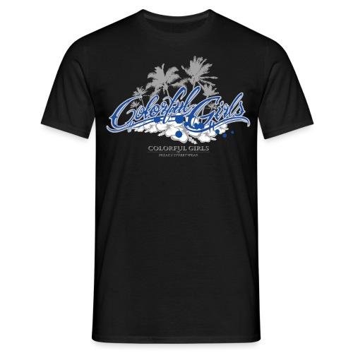Colorful Girls Logo - Männer T-Shirt