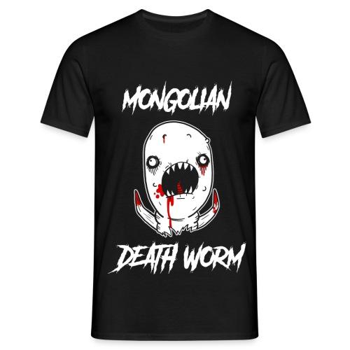 Just John Comics - Mongolian Death Worm - Men's T-Shirt