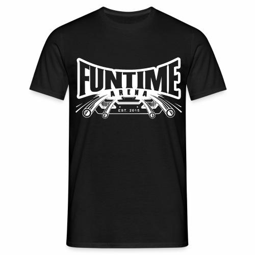 FunTime Arena Weiß - Männer T-Shirt