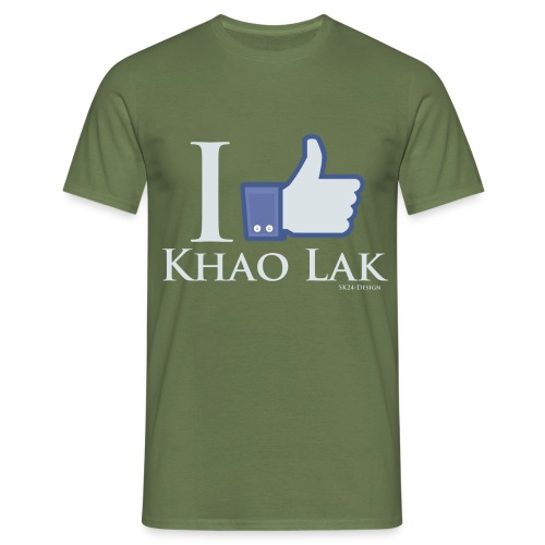 I Like Khao Lak White - Männer T-Shirt