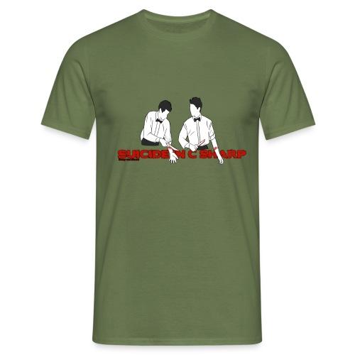suicide in c sharp png - Men's T-Shirt