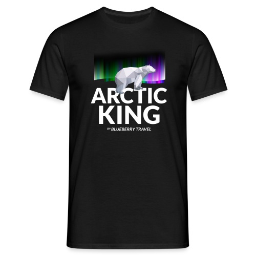 Arctic King - Maglietta da uomo