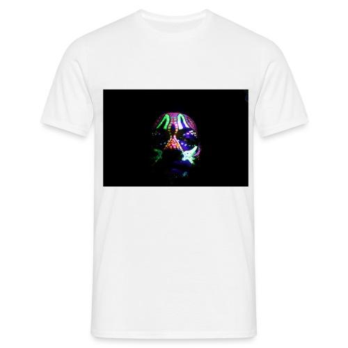 Humam chameleom - Men's T-Shirt