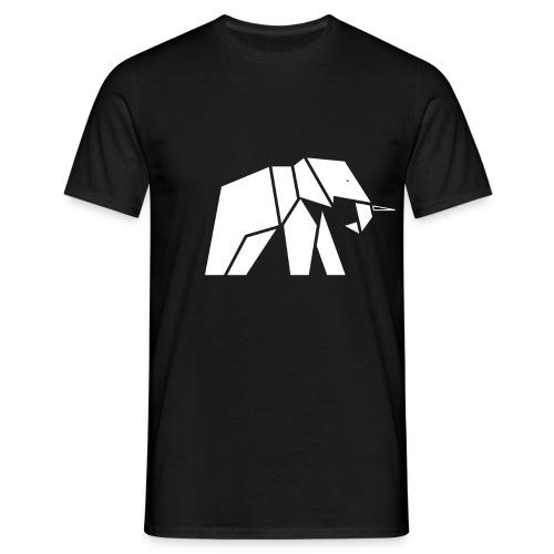 Schönes Elefanten Design für Elefanten Fans - Männer T-Shirt