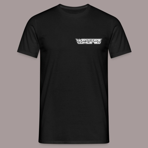 hc letters white 1 - Mannen T-shirt
