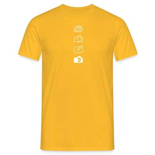 t-shirt-4icons - Men's T-Shirt