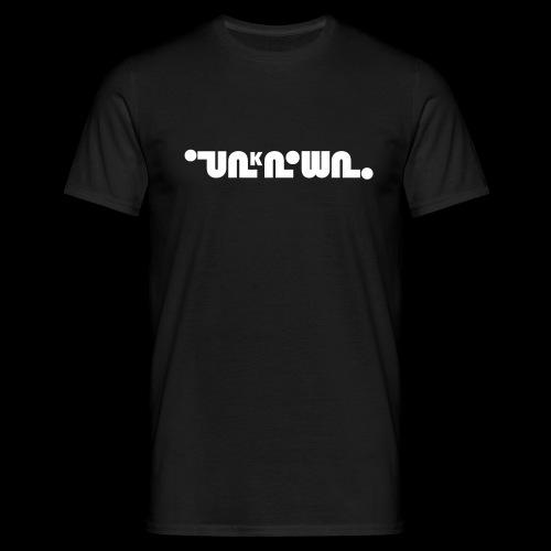 unknown logo 1 - Men's T-Shirt