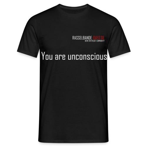 Rasselbande-logo_weiß - Männer T-Shirt