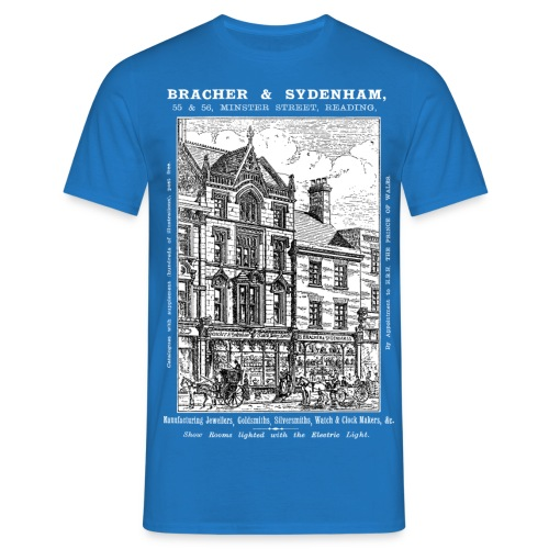 Bracher & Sydenham's Jewellers Reading - Men's T-Shirt