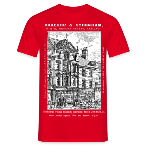 Bracher & Sydenham's Jewellers Reading - Men's T-Shirt