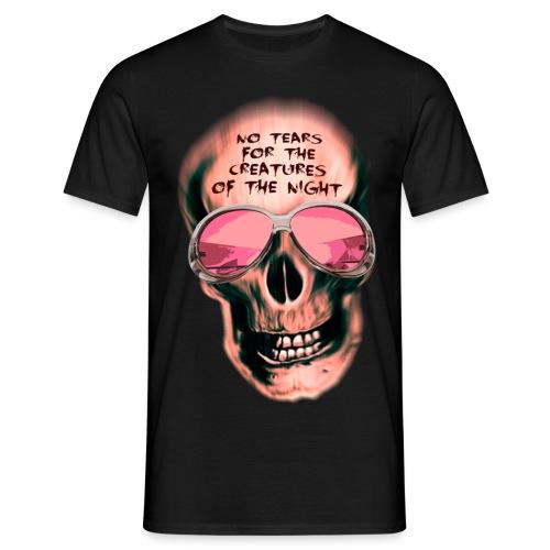 Skull No Tears - mark freeze - Männer T-Shirt