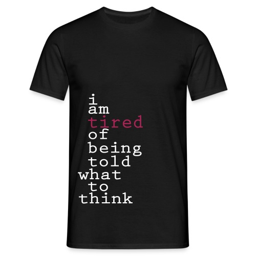 tired - Men's T-Shirt