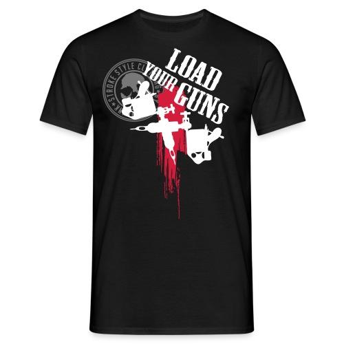 brushstroke 02 - Männer T-Shirt