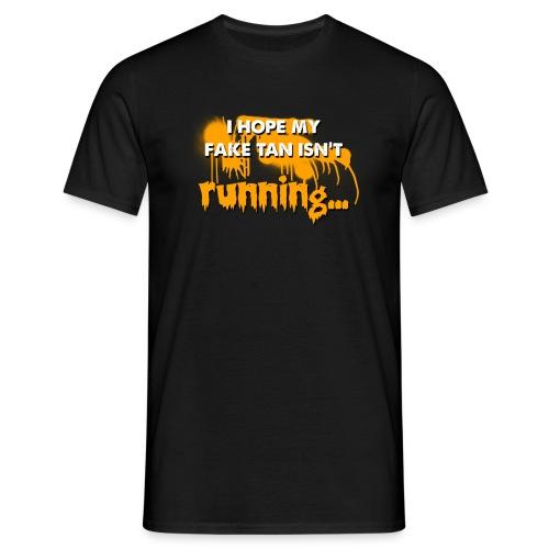 fake tan - Men's T-Shirt