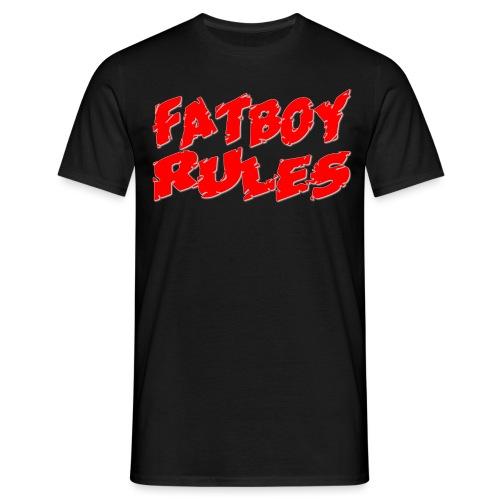Fatboy Rules - Mannen T-shirt