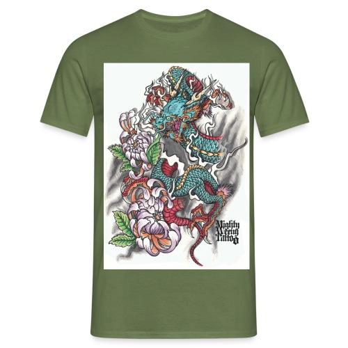 The Dragon - Männer T-Shirt