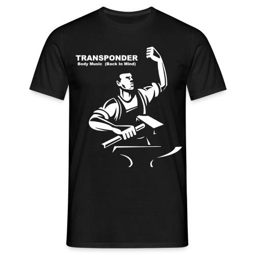 Transponder Body Music Back In Mind - Männer T-Shirt