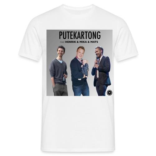 Putekartong Bilde - T-skjorte for menn
