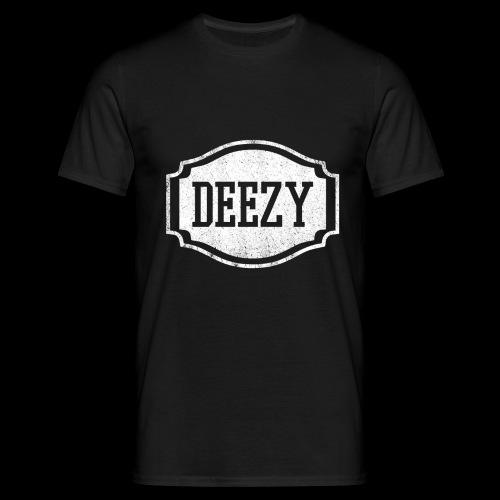 DEEZY CLASSICWHITE - Mannen T-shirt