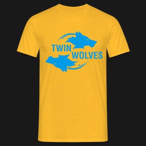 Twin Wolves Studio - Maglietta da uomo