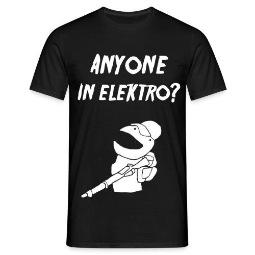 anyoneinelektro - Männer T-Shirt