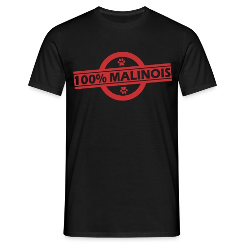 100 malou rouge - T-shirt Homme