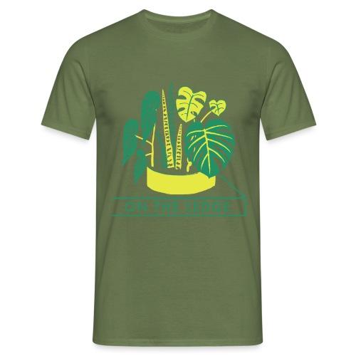 On The Ledge green logo print - Men's T-Shirt