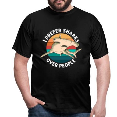 Meerestier Vintage Biologie Retro Meeresbiologe - Männer T-Shirt