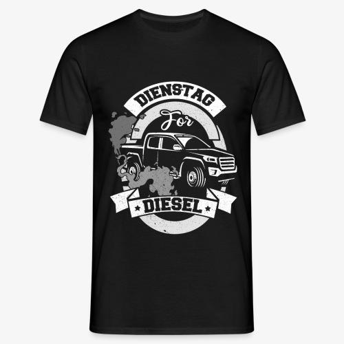 Dienstag for Diesel Fridays for Hubraum Klimakrise - Männer T-Shirt