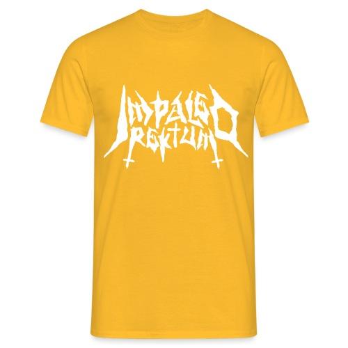 Impaled Rektum -logo shirt - Miesten t-paita
