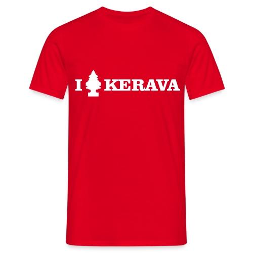 I LOVE KERAVA - Miesten t-paita