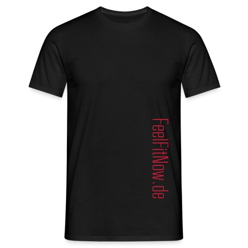 feelfit schriftzug - Männer T-Shirt