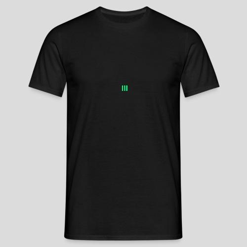 III Logo - Men's T-Shirt