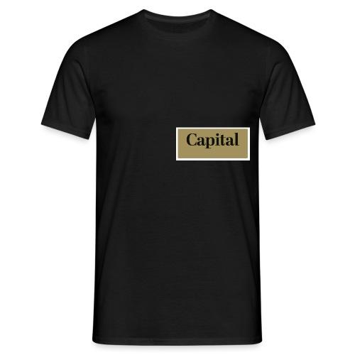 1200px Capital Logo - Männer T-Shirt