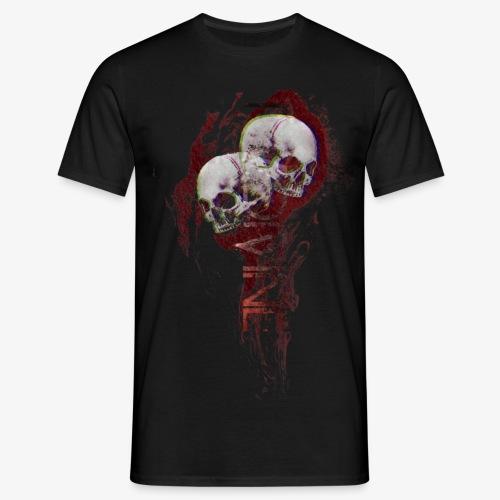 FlameSkull - Mannen T-shirt