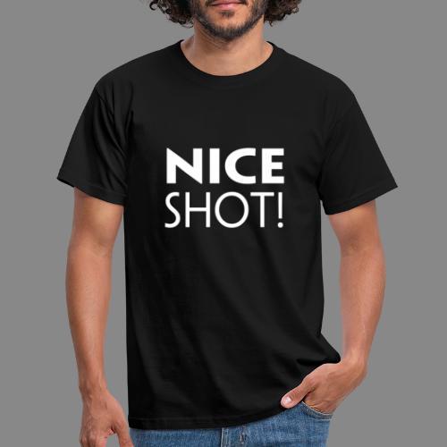Nice Shot - Herre-T-shirt