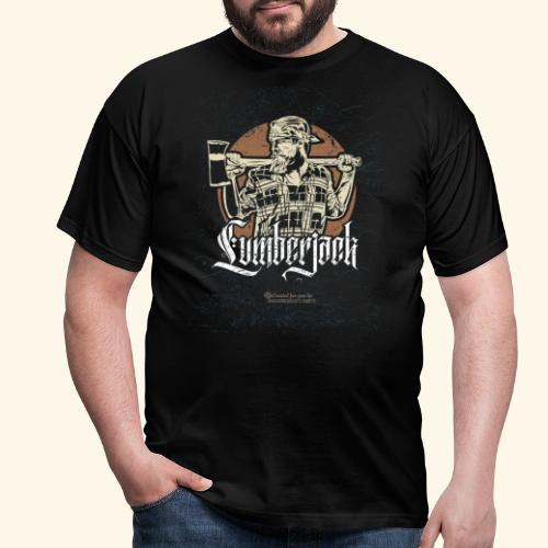 Holzfäller Design Lumberjack - Männer T-Shirt