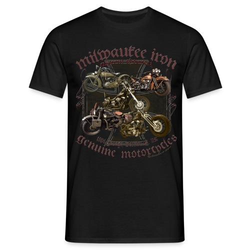 Milwaukee Motorcycles Choppers Biker - Männer T-Shirt