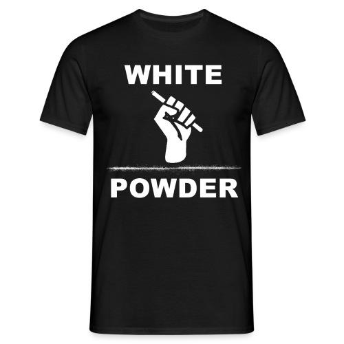 White Powder - Männer T-Shirt