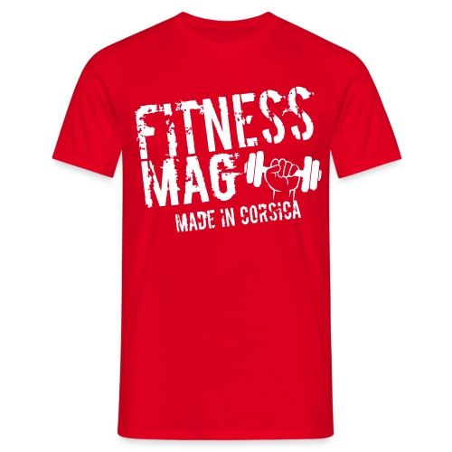 Fitness Mag made in corsica 100% Polyester - T-shirt Homme