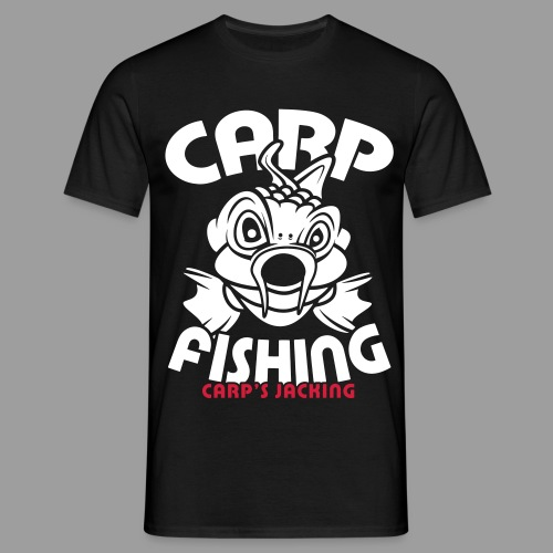 carp fishing carpsjacking - T-shirt Homme