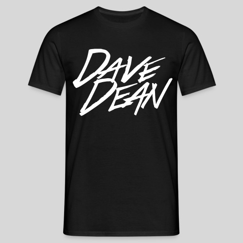 4617107 123302572 dave dean logo alpha o - Men's T-Shirt