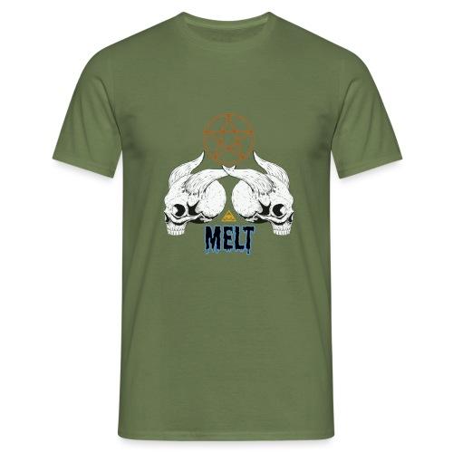 Melt Ritual a png - Männer T-Shirt